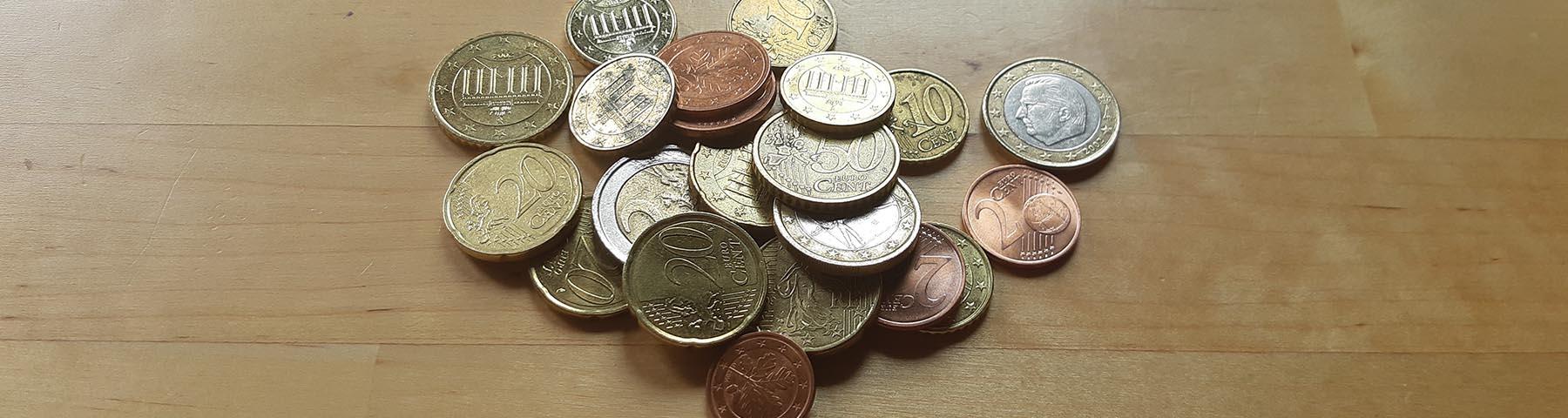 Höhe der Sozialleistungen - Foto von Kleingeld