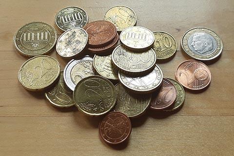 Sozialleistungen - Foto von Kleingeld